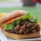 Taco Bean Burgers - Quick and Easy fix for dinner or lunch, takes a short amount of time and minimal ingredients. Kids love it! Great change from the sloppy joes rut!