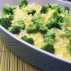 Broccoli and Cheese Casserole - I have loved this recipe since I was a little girl. It is a blend of broccoli, cheese, and rice. Give it a try, you'll love it!