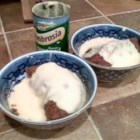 Microwave Sponge Pudding - A very simple microwave sponge pudding in less than 15 minutes with a texture between a sponge and a steamed pudding.  I often add 2 tablespoons of jam or syrup to the bottom of the final bowl. Serve hot with custard.