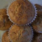 Cinnamon Bran Muffins - Hearty bran muffins with a spicy cinnamon twist!