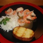 Rum and Lime Prawns - A yummy easy to make prawn recipe, great as a side dish or appetizer!