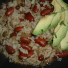 Rice & Beans (Haitian Style) - This recipe for rice and beans is so delicious!  I have adapted it from the traditional Haitian style of making rice and beans. The scent and taste of the cloves make the dish! Serve with avocado on the side and you'll want it every night of the week!