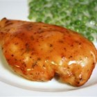 Baked Honey Mustard Chicken - This tangy-sweet baked chicken is simply seasoned and cooked, quick from start to delicious finish.