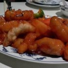 Stir-Fried Sweet and Sour Chicken - Pan fried chicken served with an ever-popular sweet and sour sauce.