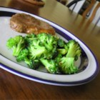 Fried Broccoli - Pan-fried broccoli is seasoned with salt and crushed red pepper in this quick and simple side dish idea.
