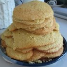 Amish Sugar Cakes - Big and soft sugar cookies. Sweet and satisfying.