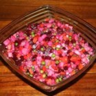 Ukrainian Salat Vinaigrette (Beet Salad) - The mild flavor of the beets really shines in this lightly seasoned salad.