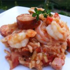 Cindy's Jambalaya - This is a tradition here in the South. Add anything you like to this basic recipe!
