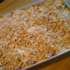 Hashbrown Casserole - It is very easy to make, and everyone loves this casserole.