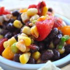 Summer Bean Salsa - This light, tasty, and flavorful treat works as a dip or can stand on its own as a salad.