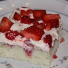 Strawberry Refrigerator Cake Recipe