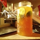 Brown Sugar and Honey Limeade - This limeade is sweetened with honey and brown sugar for a slightly sweet and slightly tart treat.
