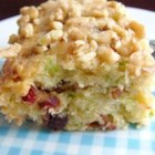 Zucchini-Coconut Cookie Bars - Moist, spicy, and nutty, these bars are healthy snack as well as a treat.