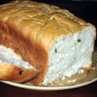 Jalapeno Bread I - This bread machine loaf will clear your sinuses with a formidable amount of jalapenos along with Monterey Jack cheese to smooth the bite just a bit.