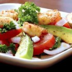 Avocado-Shrimp Salad - This zesty avocado and shrimp salad will refresh you on a hot day.