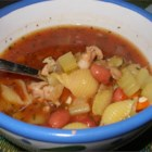 Pasta e Fagioli II - Wonderful Italian veggie soup. My parents had it while in Rome and convinced the chef to give them the recipe.