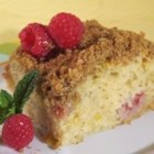 Buttermilk Mango-Berry Crumb Cake - This buttermilk coffee cake is studded with fresh mango and raspberries. It's equally delicious with other fruits -- or even plain!
