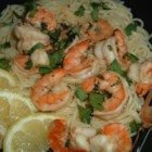Lemon and Cilantro Shrimp - This is a delicious shrimp dish and very easy to prepare. It can be served alone, on top of a baby green salad, or over pasta.