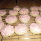 Nana's Tea Cakes - Simple, soft sugar cookies.  Can be made as drop cookies or cut out cookies.