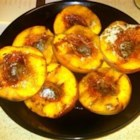 Sweet Grilled Peaches - Peaches are spruced up with a little honey and a dash of cinnamon before being packaged into foil and cooked on the grill. As my husband says, these taste like a peach cobbler without the crust!