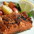 Slammin' Salmon - This easy grilled salmon dish is packed full of Asian flavors!