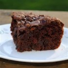 Crazy Mixed Up Cake - Quick and delicious chocolate cake to satisfy even your meanest cravings!
