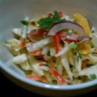 Caribbean Slaw - This colorful coleslaw is sweetened with agave syrup and given a bit of heat with the use of a habanero hot sauce.