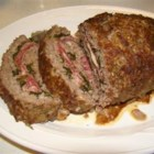 Da Beef Lover's Half Time Stuffed Meatloaf - Stuffed with Salami, Ham, Spinach and Cheese, this monster meatloaf will put any hungry man into the Lazy Boy during half-time. This recipe is big and hearty and is a fairly inexpensive way to serve many at a football party.