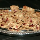 Cranberry Oatmeal Bars - Spicy bar cookies made chewy with dried cranberries, pecans, and oatmeal are a wholesome snack.