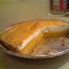 Cantaloupe Pie I -  Cantaloupe is cooked into a custard with egg yolks, butter, flour and sugar to make the filling for this delicious pie. Then this lovely filling is poured into a pastry shell, covered with meringue, and baked.