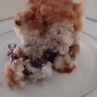 Blueberry Coffee Cake III - A simple coffee cake studded with blueberries and topped with a crunchy pecan streusel.