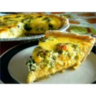 Easy Broccoli Quiche - This easy vegetarian quiche is a snap to make but looks great on the table.