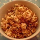 Cinnamon Popcorn - Seasoned with cinnamon, this popcorn is the perfect family snack to munch on while watching those classic Christmas movies together.