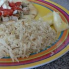 Lemon Basmati Rice - This delicious and easy side dish goes great with fish!