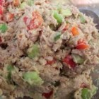 Mayo-Free Tuna Sandwich Filling - Hummus replaces mayonnaise in this tasty tuna salad.