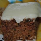 "Zucchini Cake II - ""This is my son's favorite cake. It stays very moist. I usually frost it with cream cheese frosting, but it is also great plain. It can also be baked in 2 loaf pans for zucchini bread."""