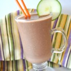 Don't Knock it Until You Try it Zucchini Chocolate Banana Nut Milkshake - If you've been looking for a way to work zucchini into a smoothie, here is a recipe for you!