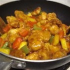 Sweet and Sour Chicken I - Pineapple and vinegar are the sweet and sour in this Asian-style chicken and green pepper stir fry.