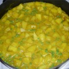 Potato Curry - This is a great creamy curry recipe. It is very mild, and unlike typical curries. A crowd pleaser!