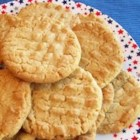 Onesy-Twosy Cookies - This is a very rich peanut butter cookie made crunchy with extra chopped peanuts.