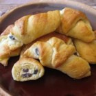 Cheese Filling For Pastries - This pastry filling combines cream cheese with sour cream, butter, an egg yolk and brandy soaked raisins.