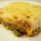 The Humble Shepherd - A twist on the original shepherd's pie using ground turkey in place of beef.