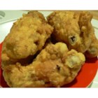 Beer Battered Chicken - Easy to make, beer battered, deep fried chicken.