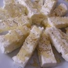 Honey and Feta Spread - Though it sounds odd, this delicious appetizer is quick and easy.  It always receives rave reviews at parties.