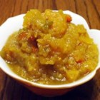 Sweet Vidalia Onion Relish - A sweet and tangy onion relish that can be used as you would most any relish. Great on subs and cooked into cornbread.
