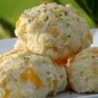 Cheddar Bay Biscuits - Buttermilk baking mix (e.g. Bisquick) does the trick in these savory biscuits, with the addition of Cheddar cheese, garlic, parsley, onion and water.