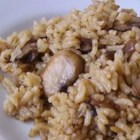 Easy Mushroom Rice - Scrumptious mushroom rice! Simple as can be!