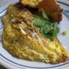 Seared Catfish Creole - A fast and easy but tasty and delicious catfish preparation with bite. You can vary the recipe by adding a layer of honey or using honey mustard. Also great with tuna!