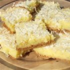 Graham Moist Lemon Bars - When my brother about broke his teeth on the crust of some lemon bars, I thought I would try to make them chewier with graham cracker crumbs as the crust.