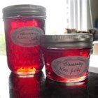 Wine Jelly - This jelly is a lovely accompaniment to crackers and cream cheese. You can use any kind of wine, red or white.